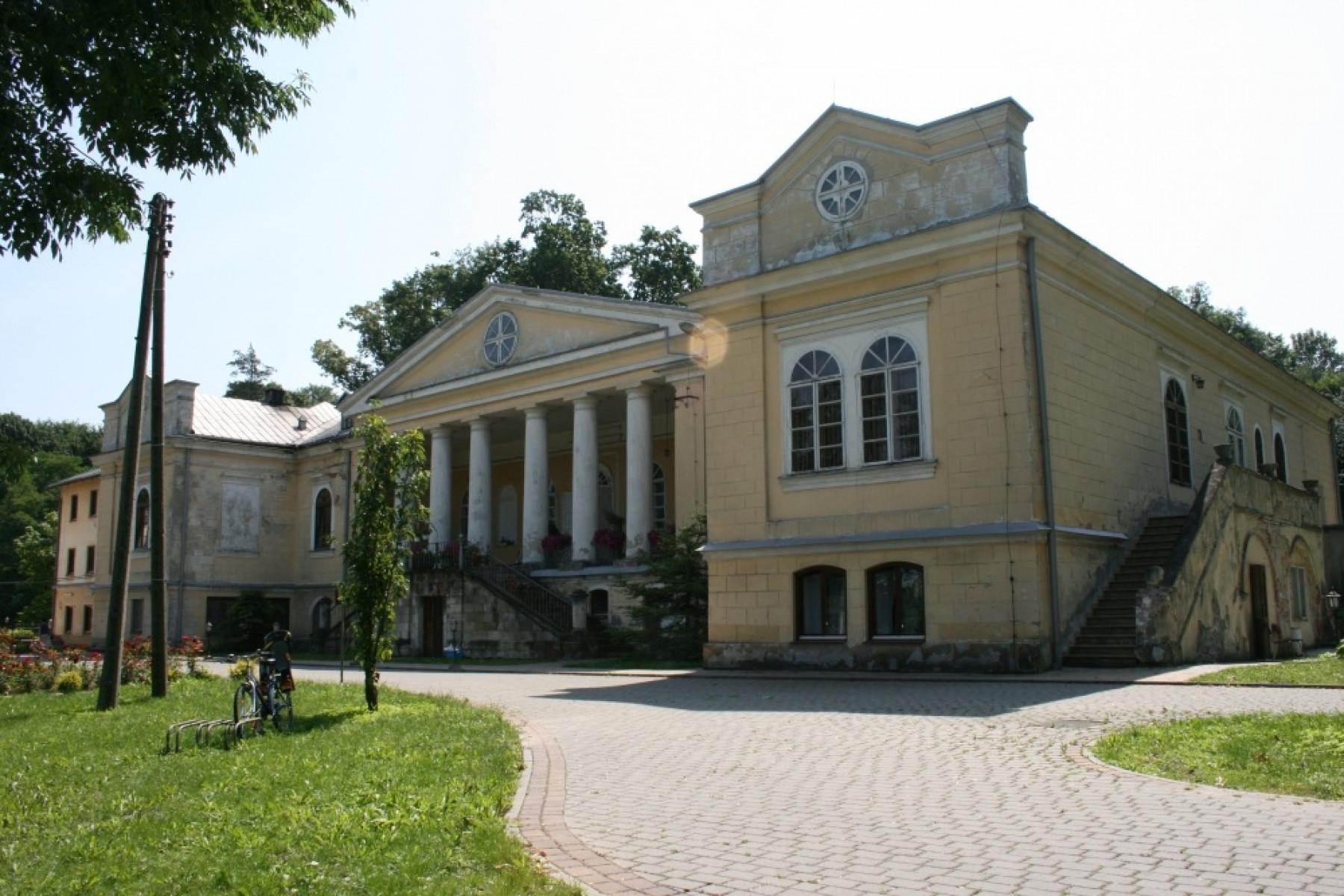 Pałac Hallerów w Mianocicach