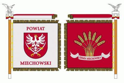 Sztandar Powiatu Miechowskiego