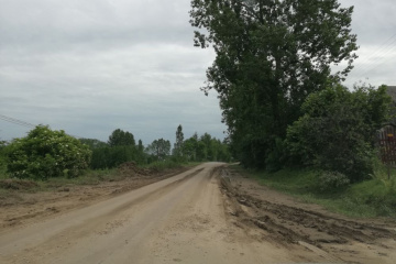 Zły sposób działalności rolniczej jedną z przyczyn zamulania dróg, rowów i przepustów