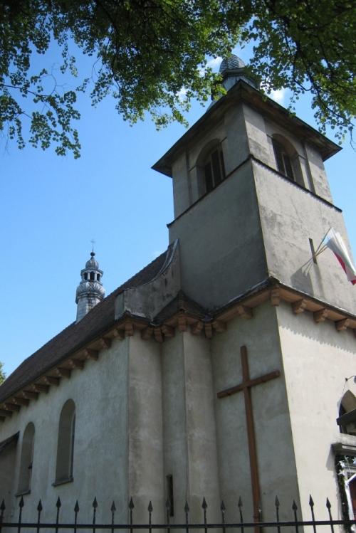 Kościół murowany w Sławicach Szlacheckich